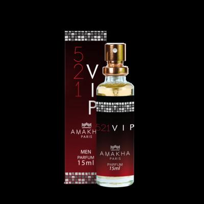 Perfume 521 vip men Amakha paris masculino 15 ml
